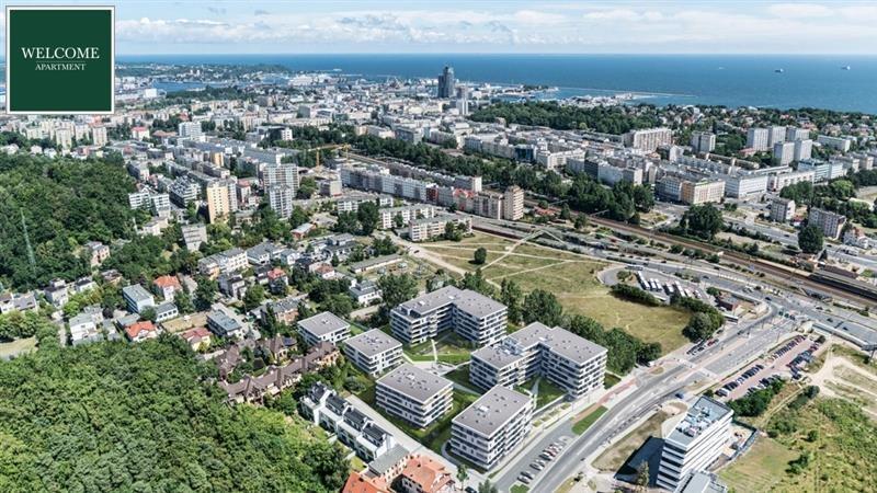Mieszkanie dwupokojowe na sprzedaż Gdynia, Działki Leśne, Silva, Kielecka  52m2 Foto 12
