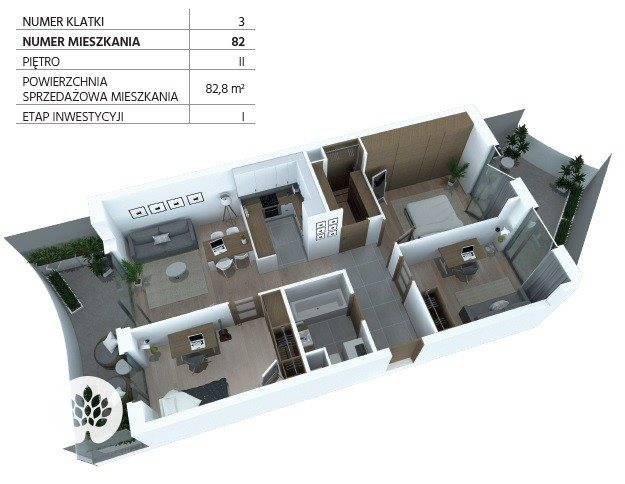 Mieszkanie trzypokojowe na sprzedaż Bydgoszcz, Szwederowo, Piękna  83m2 Foto 12