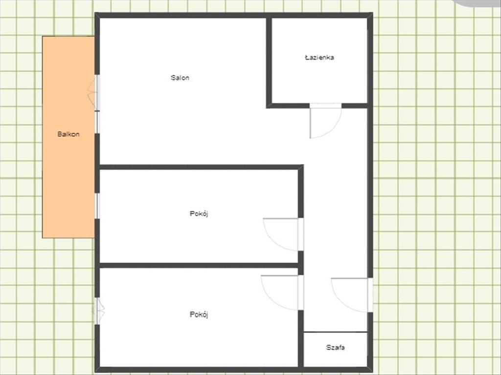 Mieszkanie trzypokojowe na wynajem Rzeszów, Rzeszów, bł. Karoliny  53m2 Foto 10