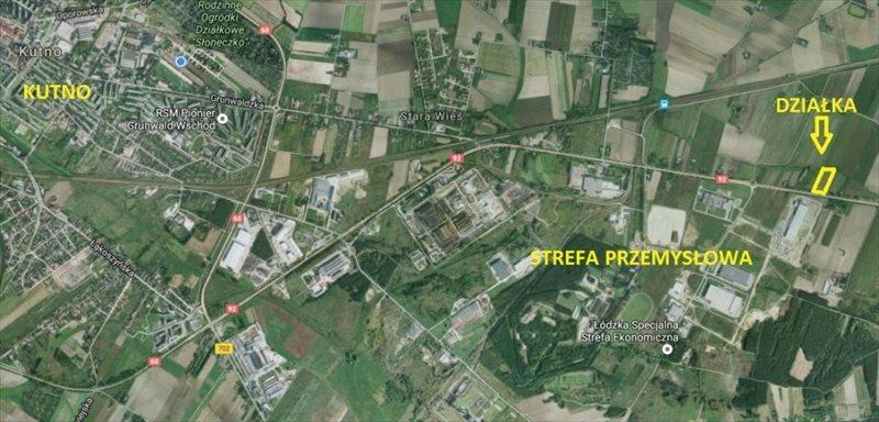 Działka przemysłowo-handlowa na sprzedaż Kutno, Sklęczkowska  10132m2 Foto 1