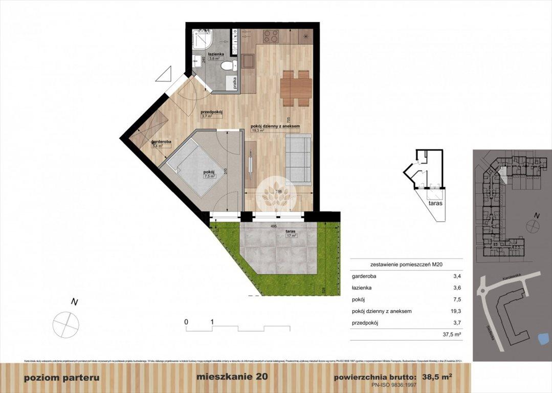 Mieszkanie dwupokojowe na sprzedaż Bydgoszcz, Czyżkówko, Siedlecka  39m2 Foto 10