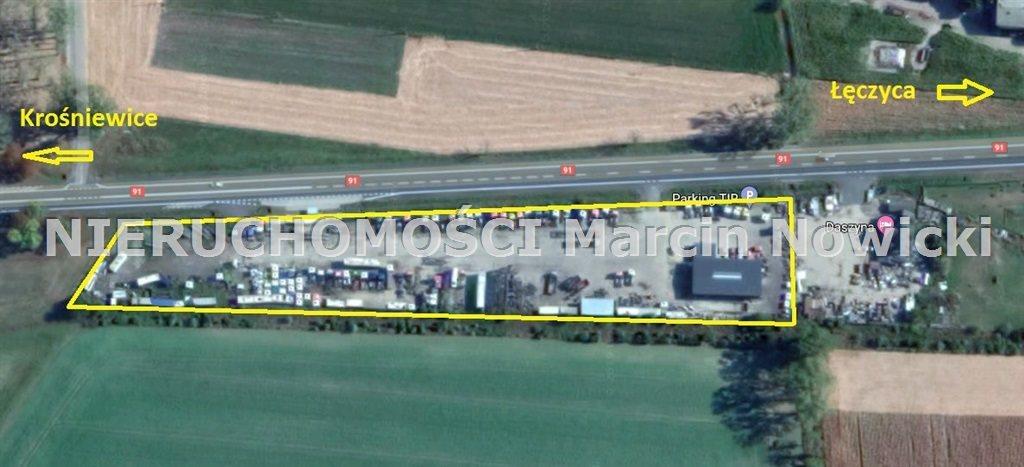 Działka przemysłowo-handlowa pod dzierżawę Daszyna  10628m2 Foto 3