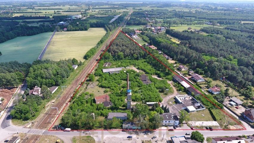 Działka inwestycyjna na sprzedaż Bełchów, Przemysłowa  46000m2 Foto 1