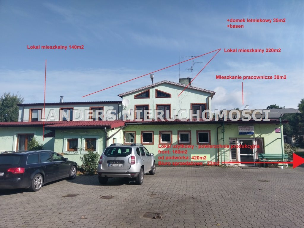 Dom na sprzedaż Aleksandrów Łódzki, Wierzbińska  993m2 Foto 1