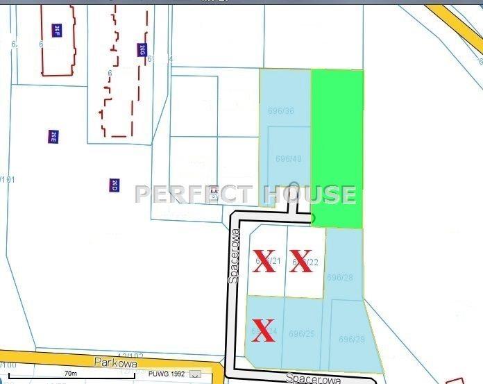 Działka budowlana na sprzedaż Baranowo  832m2 Foto 1