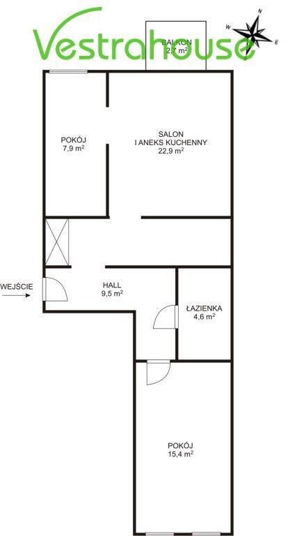 Mieszkanie trzypokojowe na sprzedaż Warszawa, Wola  60m2 Foto 11