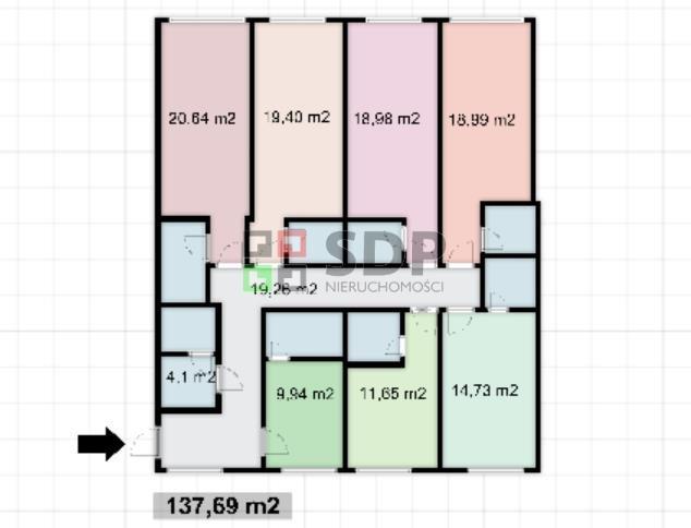 Mieszkanie na sprzedaż Wrocław, Śródmieście, Kleczków, Trzebnicka  138m2 Foto 11