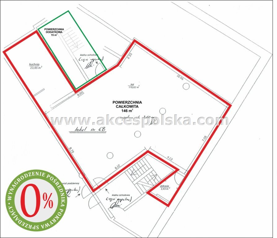 Lokal użytkowy na sprzedaż Warszawa, Ochota, Szczęśliwice, Grójecka  146m2 Foto 1