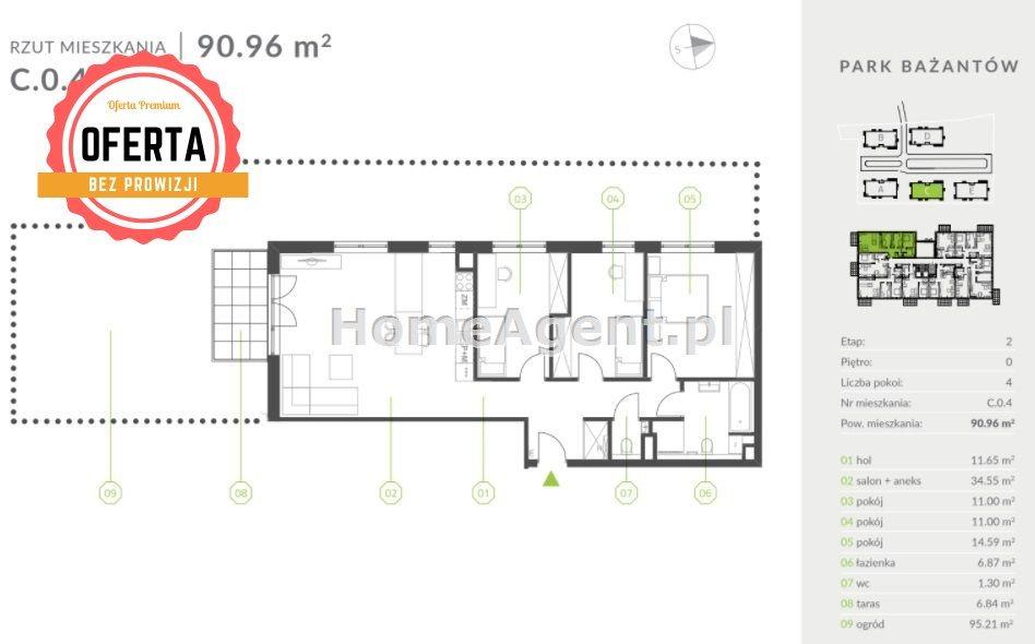 Mieszkanie czteropokojowe  na sprzedaż Katowice, Kostuchna  91m2 Foto 5
