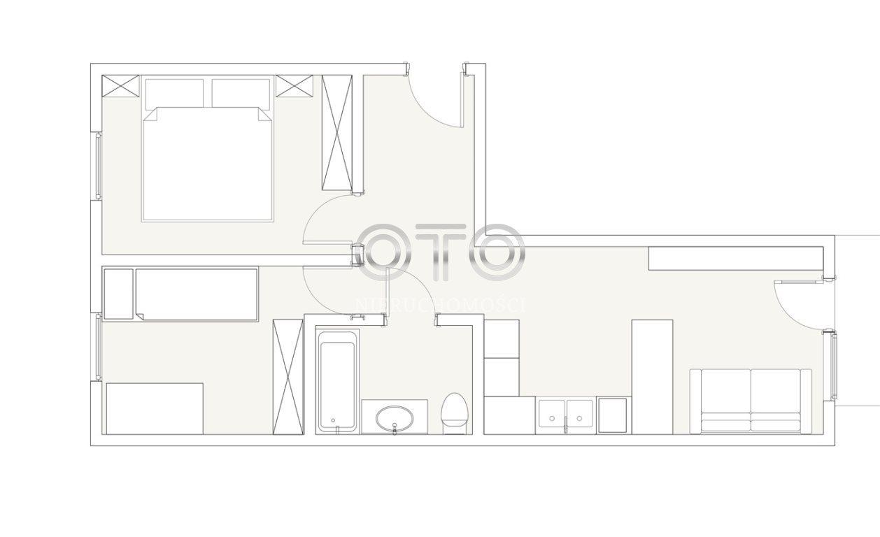 Mieszkanie trzypokojowe na sprzedaż Wrocław, Psie Pole, Zakrzów, Zatorska  62m2 Foto 2