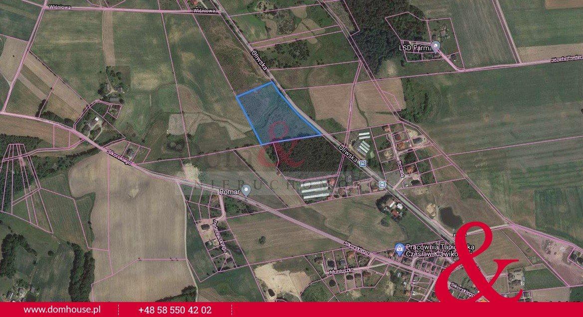 Działka inwestycyjna na sprzedaż Kielno, Oliwska  21000m2 Foto 1