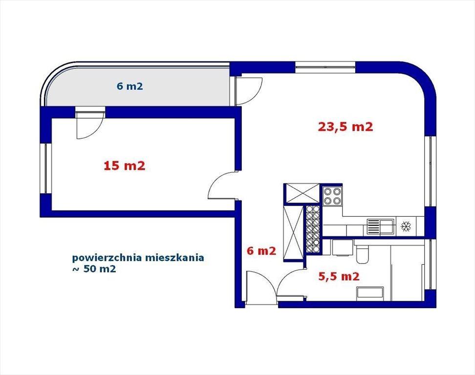Mieszkanie dwupokojowe na sprzedaż Wrocław, Fabryczna, Gądów Mały, Stefana  Drzewieckiego  50m2 Foto 13