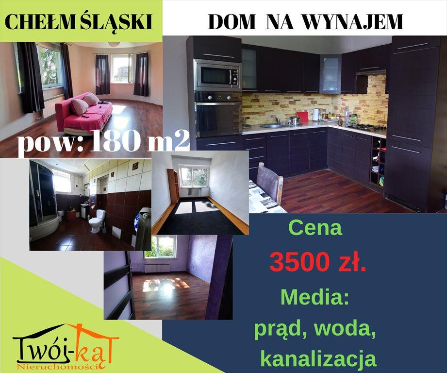 Dom na wynajem Chełm Śląski  180m2 Foto 1