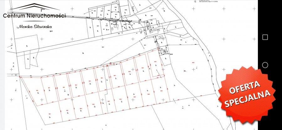 Działka leśna na sprzedaż Zawada  3110m2 Foto 1