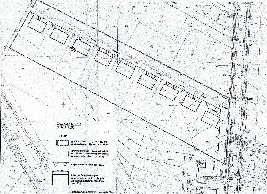Działka budowlana na sprzedaż Dołuje  1000m2 Foto 1