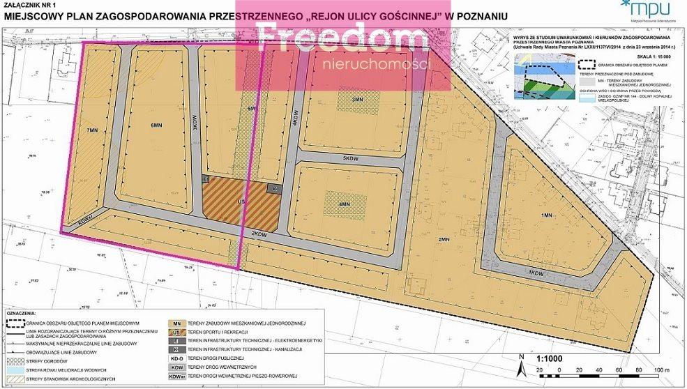Działka inwestycyjna na sprzedaż Poznań, Gościnna  37470m2 Foto 9