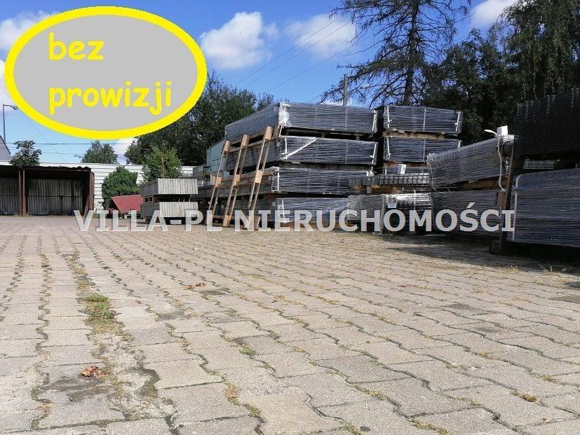 Działka przemysłowo-handlowa pod dzierżawę Zgierz  500m2 Foto 1