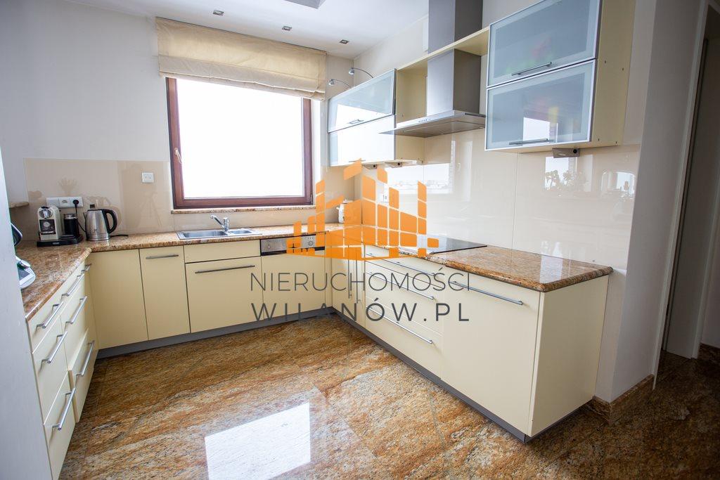 Mieszkanie czteropokojowe  na wynajem Warszawa, Wilanów, Sarmacka  200m2 Foto 4