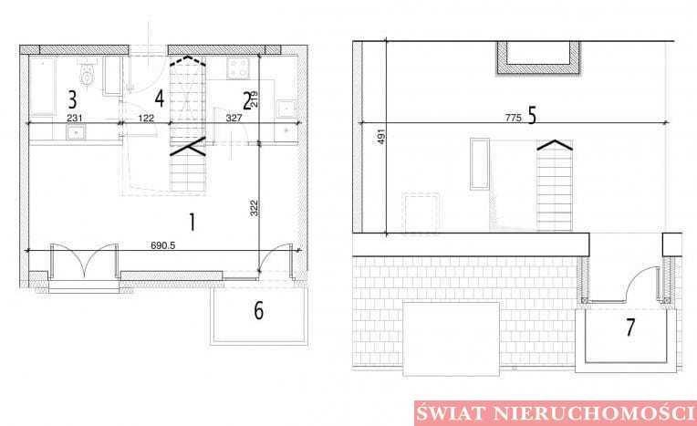 Mieszkanie dwupokojowe na sprzedaż Siechnice  59m2 Foto 3