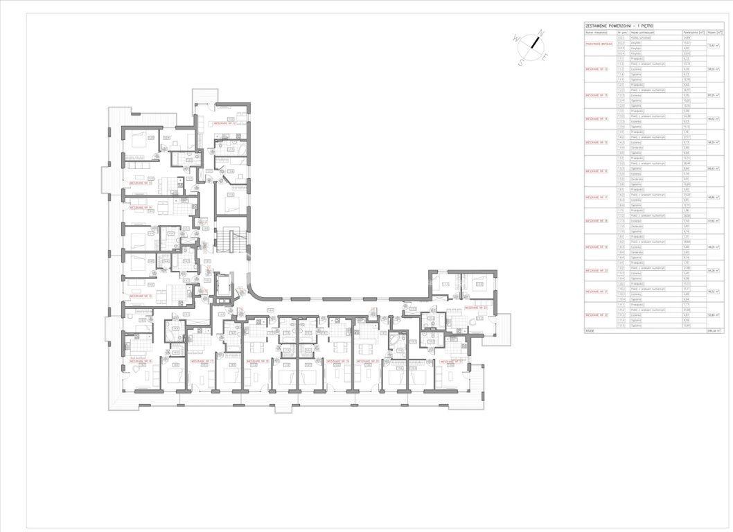 Mieszkanie dwupokojowe na sprzedaż Bielsko-Biała  47m2 Foto 7