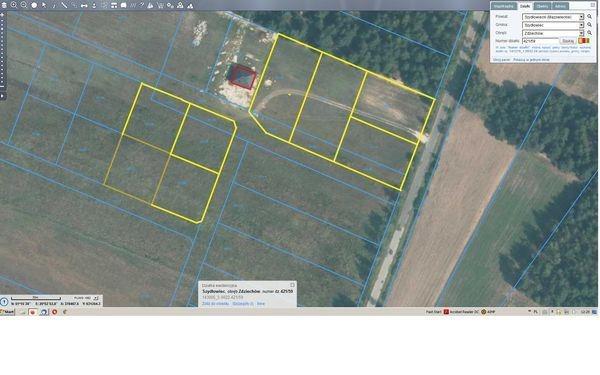 Działka budowlana na sprzedaż Zdziechów  1100m2 Foto 2