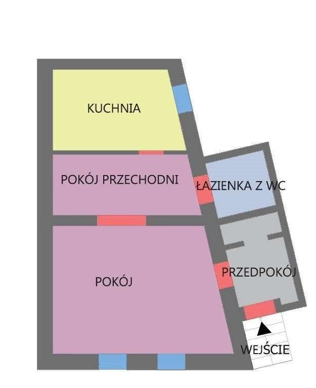 Mieszkanie dwupokojowe na sprzedaż Kraków, Dębniki, kraków  40m2 Foto 1