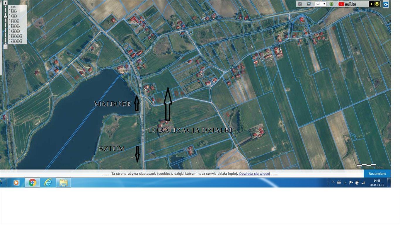 Działka rolna na sprzedaż Malbork, Koniecwałd  13802m2 Foto 2