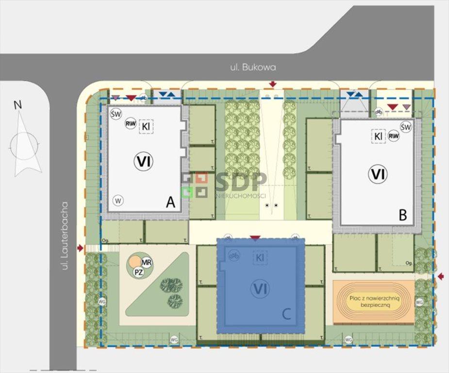 Mieszkanie trzypokojowe na sprzedaż Wrocław, Fabryczna, Żerniki, Henricha Lauterbacha  62m2 Foto 5