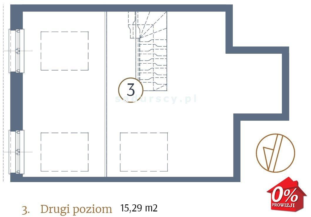 Mieszkanie dwupokojowe na sprzedaż Kraków, Stare Miasto, Kleparz, Filipa - okolice  48m2 Foto 5