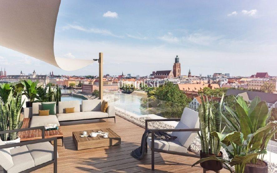 Mieszkanie trzypokojowe na sprzedaż Wrocław, Stare Miasto  70m2 Foto 1