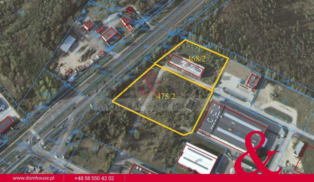 Działka przemysłowo-handlowa na sprzedaż Gdynia, Wielki Kack, Chwaszczyńska  17000m2 Foto 5