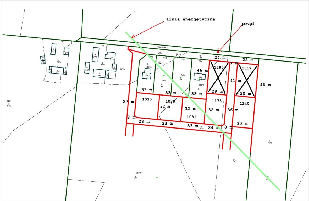 Działka budowlana na sprzedaż Gdańsk, Kokoszki, Żukowska  1030m2 Foto 1