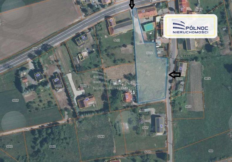 Działka budowlana pod dzierżawę Czerna  2500m2 Foto 1