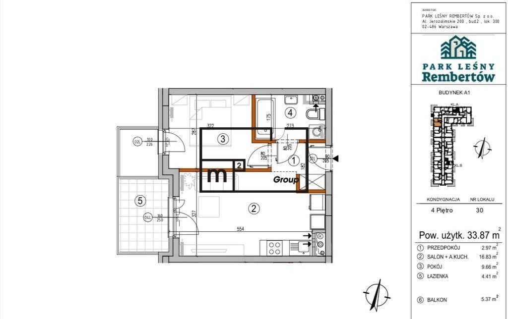 Mieszkanie dwupokojowe na sprzedaż Warszawa, Rembertów, Chełmżyńska  34m2 Foto 1