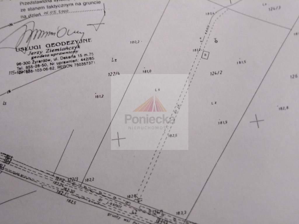 Działka leśna z prawem budowy na sprzedaż Lasek  13770m2 Foto 2