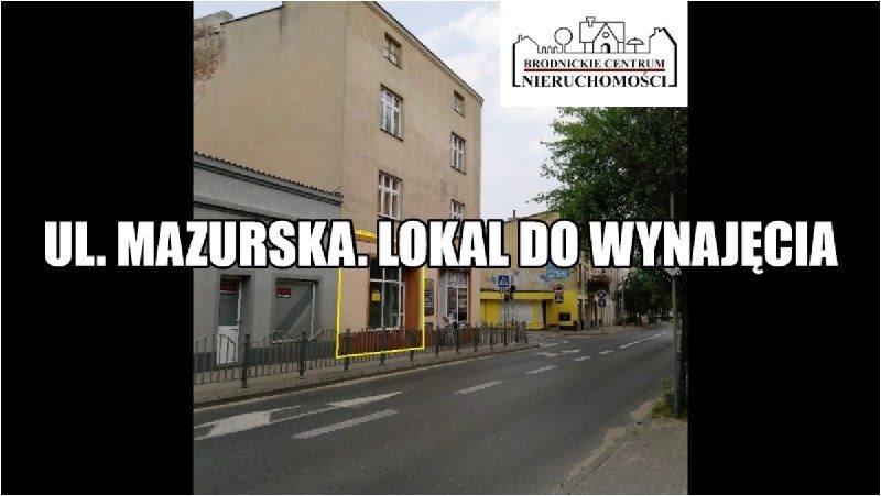 Lokal użytkowy na wynajem polska, Brodnica, Centrum, Centrum  56m2 Foto 2