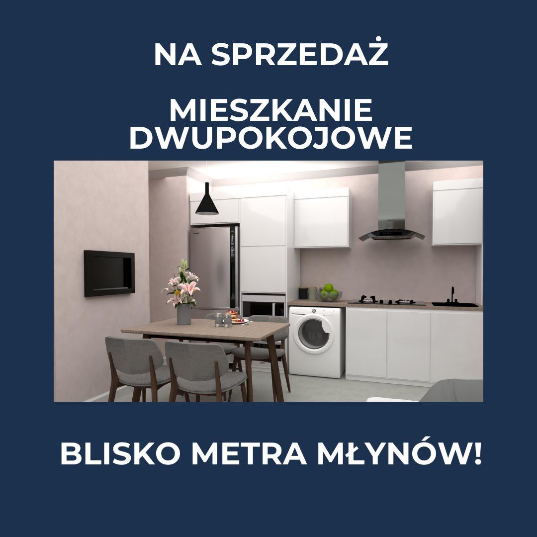 Mieszkanie dwupokojowe na sprzedaż Warszawa, Wola, Młynów, Długosza  42m2 Foto 1