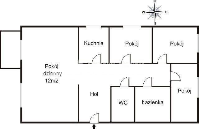 Mieszkanie czteropokojowe  na wynajem Gdańsk, Oliwa, Karpacka  60m2 Foto 2