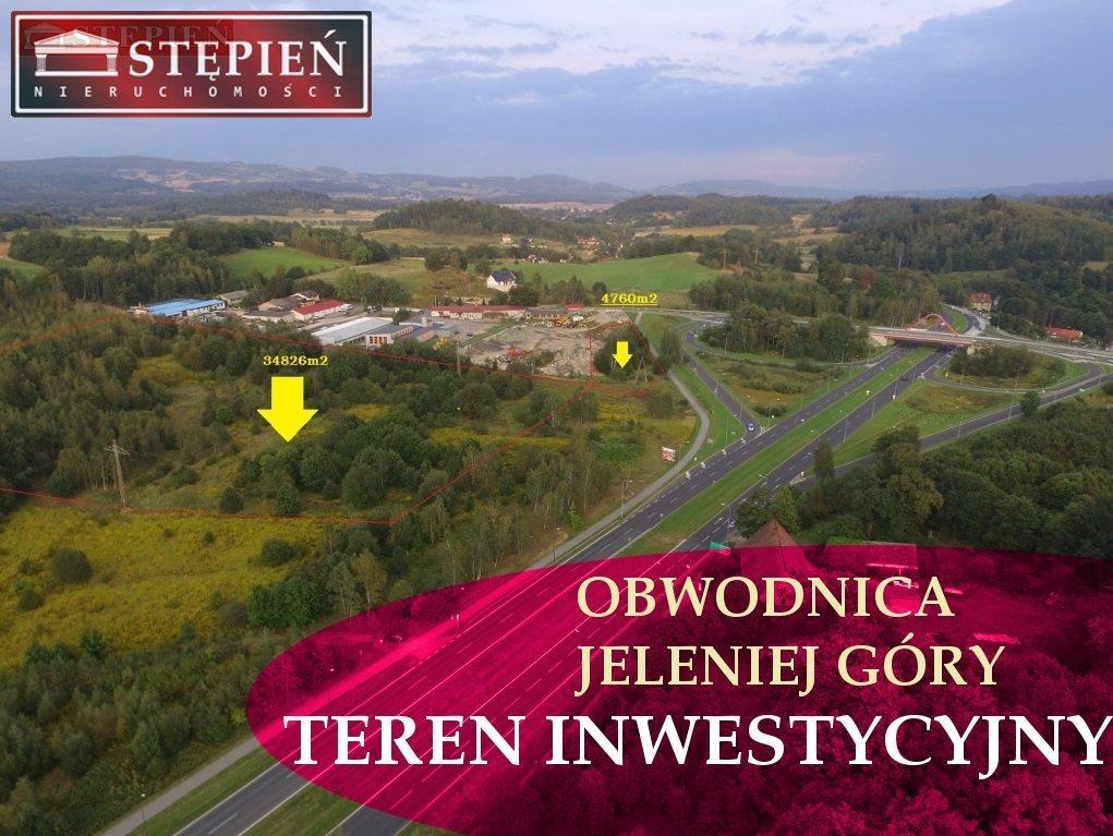 Działka budowlana na sprzedaż Jelenia Góra, Grabary  34826m2 Foto 1