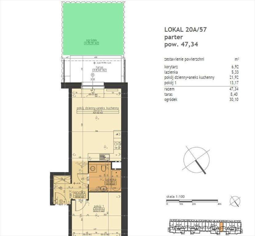 Mieszkanie dwupokojowe na sprzedaż Poznań, Stare Miasto, Winogrady  47m2 Foto 1