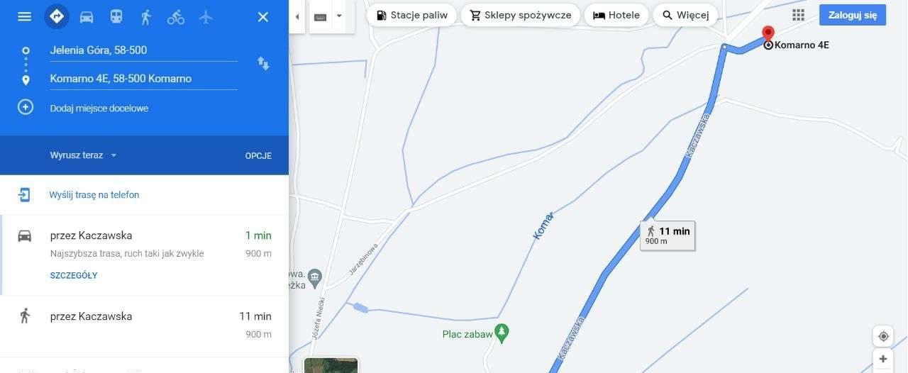 Działka budowlana na sprzedaż Komarno, Widokowa  1077m2 Foto 4