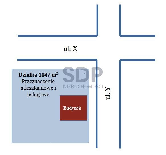 Działka budowlana na sprzedaż Wrocław, Krzyki, Brochów, Mościckiego Ignacego  1047m2 Foto 1