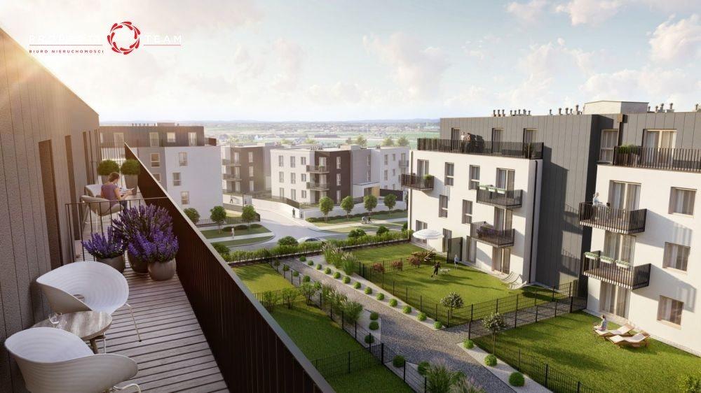 Mieszkanie dwupokojowe na sprzedaż Wrocław, Jagodno, Edmunda Kajdasza  49m2 Foto 2