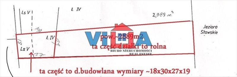 Działka budowlana na sprzedaż Sława  2686m2 Foto 3