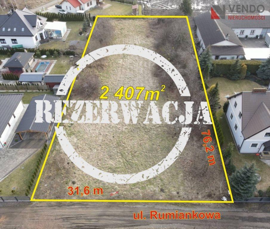 Działka budowlana na sprzedaż Pobiedziska, Rumiankowa  2407m2 Foto 2