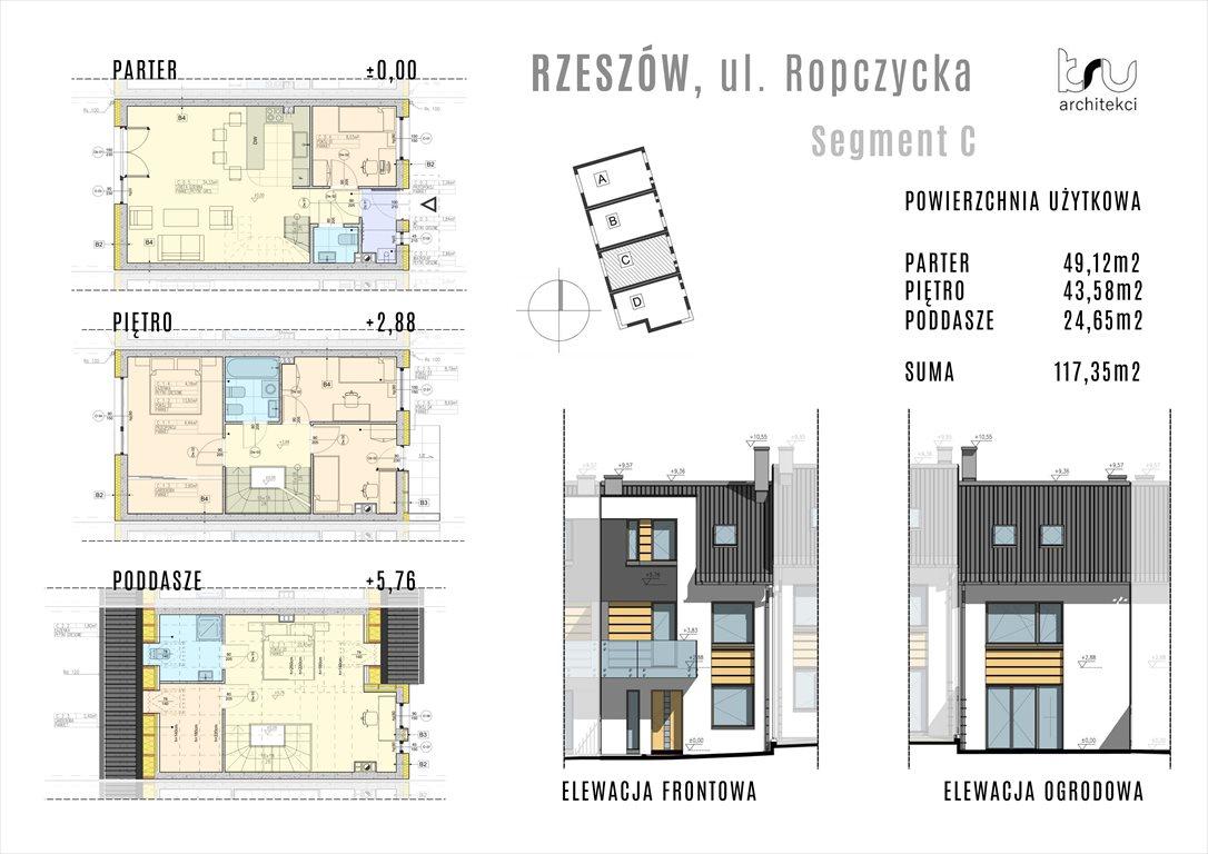 Dom na sprzedaż Rzeszów, Krakowska, Ropczycka  117m2 Foto 5