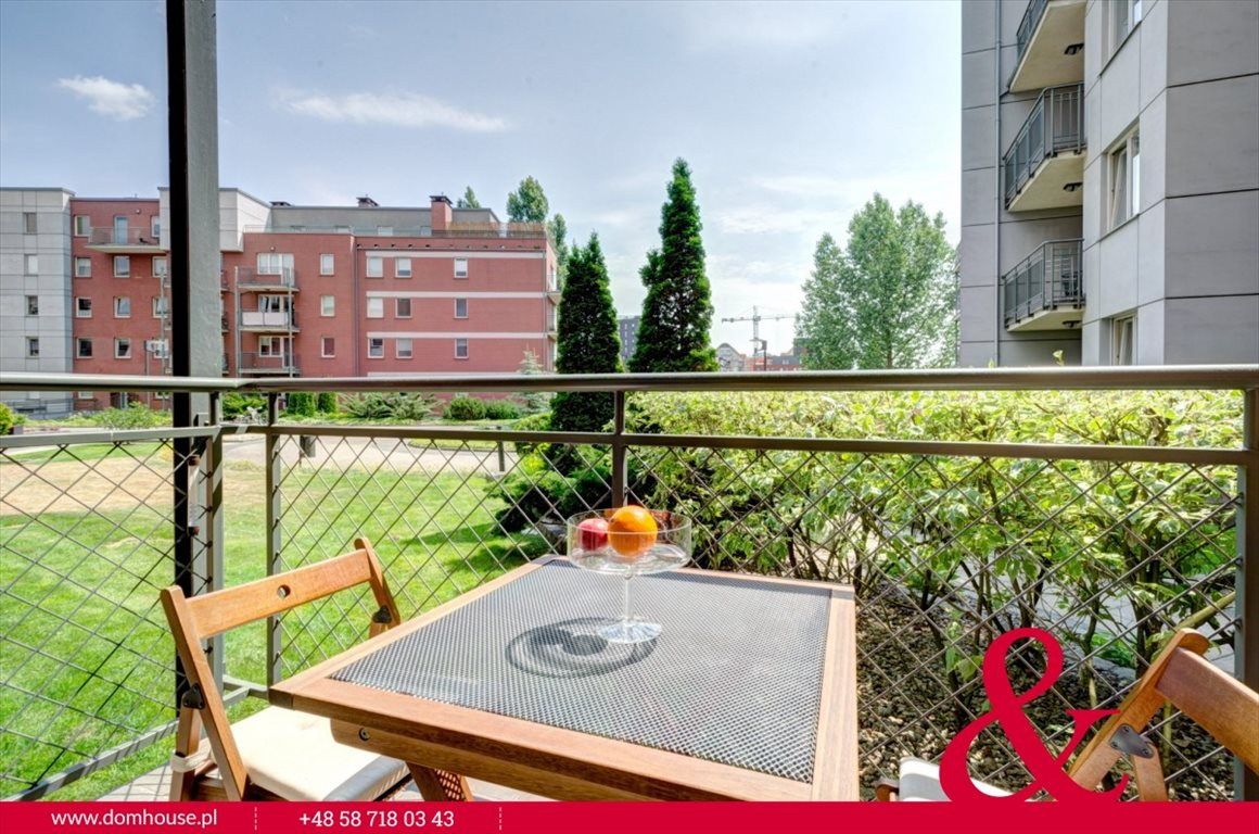 Mieszkanie dwupokojowe na wynajem Gdańsk, Śródmieście, Lastadia  51m2 Foto 10