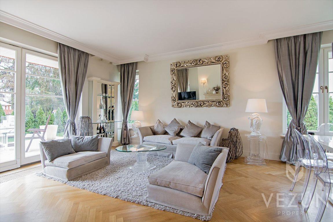 Luksusowy dom na sprzedaż Warszawa, Wilanów, Powsinek bliżniak 300 mkw, 7 pokoi, LUX LUX  300m2 Foto 1