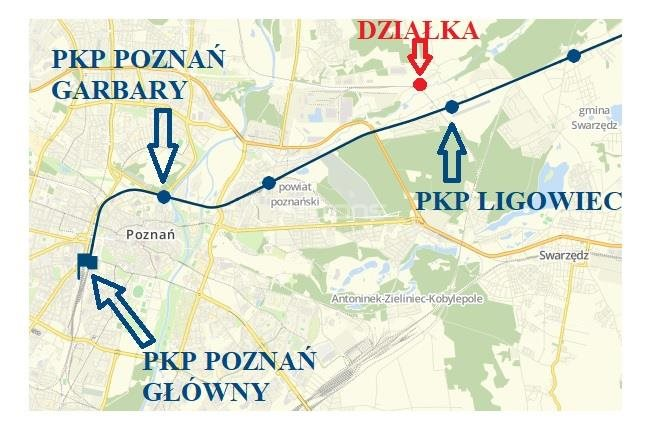 Działka budowlana na sprzedaż Poznań, Nowe Miasto, Asfaltowa  26807m2 Foto 9