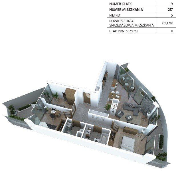 Mieszkanie czteropokojowe  na sprzedaż Bydgoszcz, Szwederowo, Piękna  85m2 Foto 6
